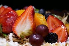 Именниный пирог плодоовощ Стоковые Фотографии RF