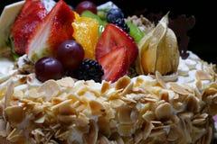 Именниный пирог плодоовощ Стоковая Фотография RF