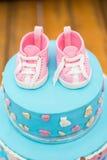 Именниный пирог ребенка Украшенный для детей Стоковые Фото