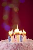 Именниный пирог с днем рождений Стоковая Фотография RF