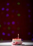 Именниный пирог с днем рождений Стоковое Фото