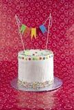 именниный пирог цветастый Стоковое фото RF