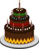 Именниный пирог для вас дизайн Стоковые Изображения RF