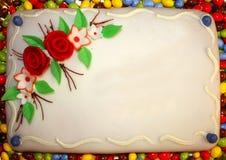 именниный пирог Стоковые Изображения