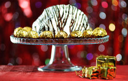 Именниный пирог. Стоковая Фотография RF