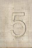 именованное число Стоковая Фотография RF