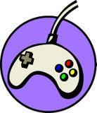 имеющаяся видеоигра вектора joypad архива регулятора Стоковое Изображение