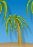 имеющаяся пальма JPEG формы конструкции eps8 btoh Стоковое Изображение