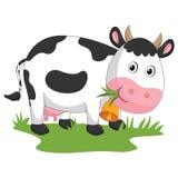 имеющийся вектор иллюстрации архива eps коровы Стоковое Изображение