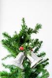 имеющийся вектор иллюстрации рождества колоколов Стоковое Изображение