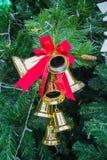 имеющийся вектор иллюстрации рождества колоколов Стоковое Изображение RF
