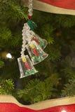 имеющийся вектор иллюстрации рождества колоколов Стоковые Фотографии RF