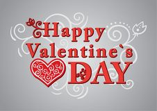 имеющийся вектор valentines архива дня карточки Стоковые Фото
