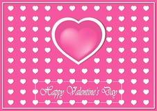 имеющийся вектор valentines архива дня карточки Стоковая Фотография RF