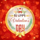 имеющийся вектор valentines архива дня карточки Стоковое фото RF
