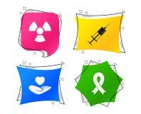 2 имеющимися белизна микстуры eps изолированная иконами установленная Шприц, жизнь, радиация вектор бесплатная иллюстрация