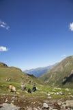 имеющ hiking путешествие остальных Стоковое фото RF