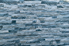 Имитация панели стены естественного слоя камней Стоковая Фотография RF