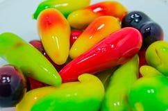 Имитация Choup взгляда Kanom красочная приносить тайский десерт Стоковые Фотографии RF
