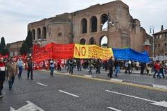 иммигранты демонстрации Стоковые Изображения