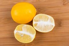 2 лимона Мейера Стоковое Изображение RF