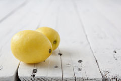 2 лимона Стоковое Фото