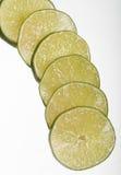 лимон изолированный предпосылкой отрезает белизну Стоковые Изображения