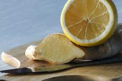 лимон имбиря Стоковые Изображения RF