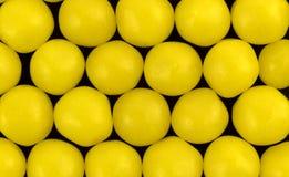 лимон конфеты предпосылки черный Стоковое Изображение