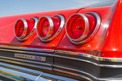 Импала 1965 Chevy SS Стоковое Изображение