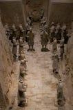 Император и его солдаты Стоковые Фотографии RF
