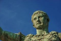 Император Augustus Рима стоковые изображения