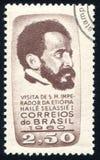 Император Haile Selassie Эфиопии Стоковая Фотография