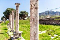 Империя Sardes Sardis Лидии города древнегреческия римская Стоковые Фотографии RF