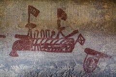 Имперская надпись на стенах Стоковые Фотографии RF