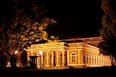 имперские petropolis ночи музея стоковое фото