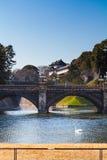 Имперский дворец в Японии, токио Стоковая Фотография