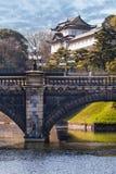 Имперский дворец в Японии, токио Стоковое Фото