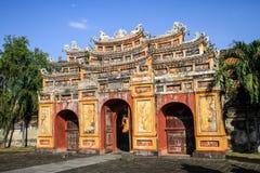 Имперский город оттенка, Thua Thien-Hue, оттенок, Вьетнам стоковое изображение rf