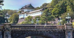 Имперский дворец на токио стоковое изображение rf