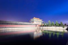 имперский дворец ночи Стоковое фото RF