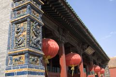 имперский дворец shenyang Стоковые Фотографии RF