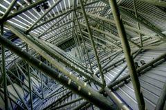 Имперский лестничный колодец музея войны Стоковое Фото
