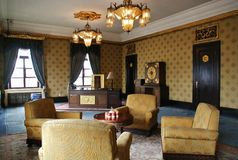 Имперское исследование в дворце Manchukuo Стоковая Фотография