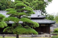имперское токио дворца японии стоковое изображение