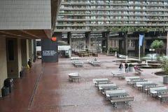 Имущество Лондон центра барбакана стоковая фотография rf