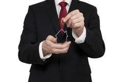 имущество принципиальной схемы предпосылки инвестирует изолированную реальную белизну Стоковая Фотография RF
