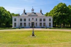 Имущество Beeckestijn в Velsen, Нидерланды Стоковая Фотография