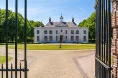 Имущество Beeckestijn в Velsen, Нидерланды Стоковое Изображение RF
