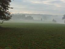 Имущество Holkham в тумане 1 Стоковые Изображения